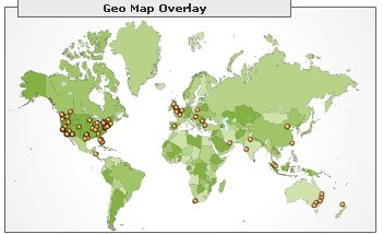 Google Analytics on Ookles - Geography